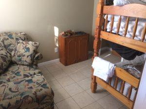 Bedroom 2, One Bunk set